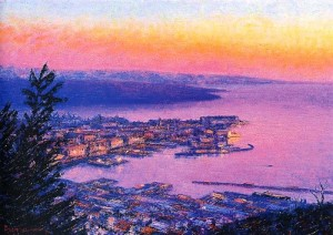 phoca_thumb_l_veduta-di trieste al-tramonto