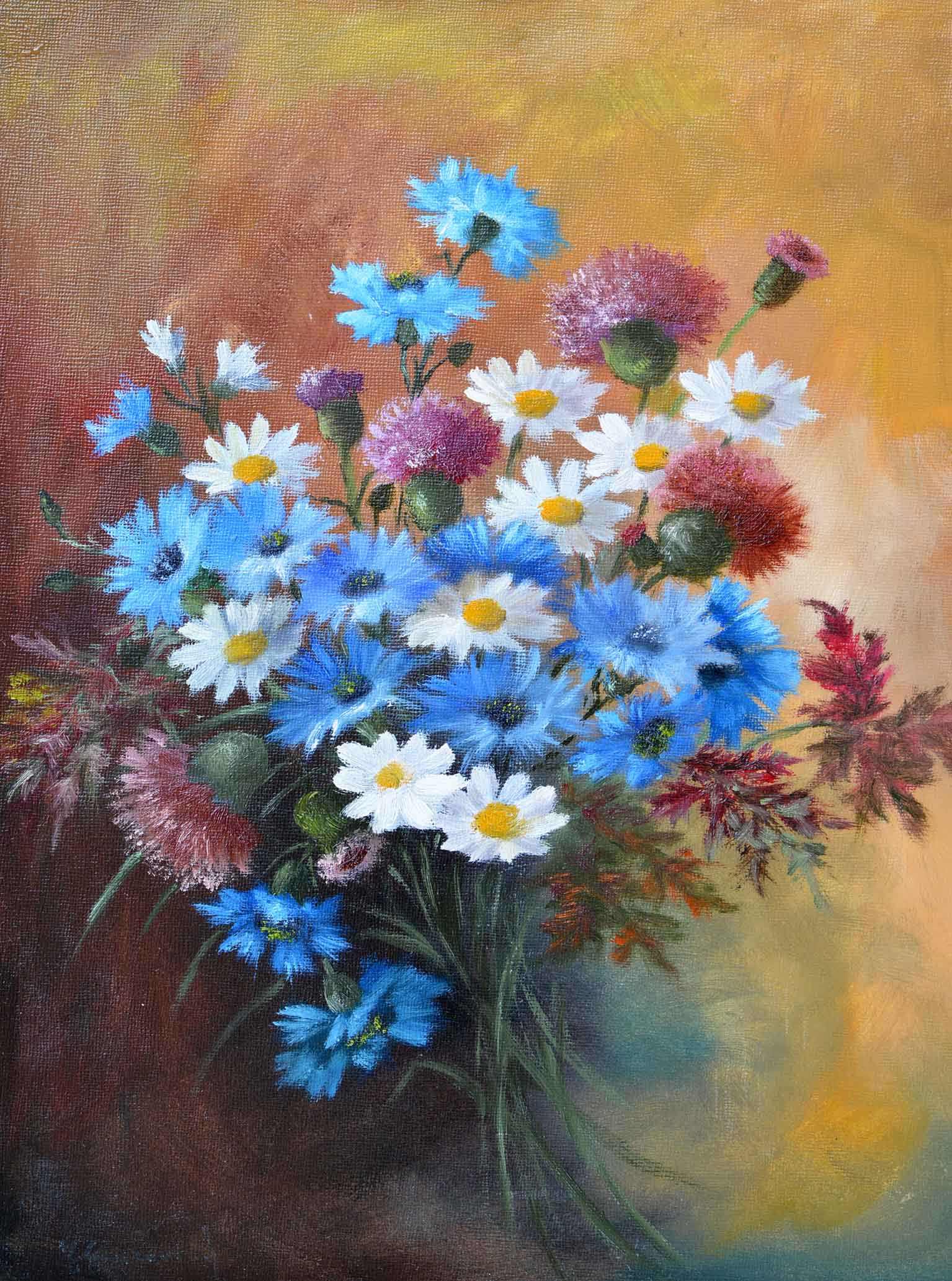 Dipinti di fiori quadri con fiori moderni dipinti for Quadri fiori olio