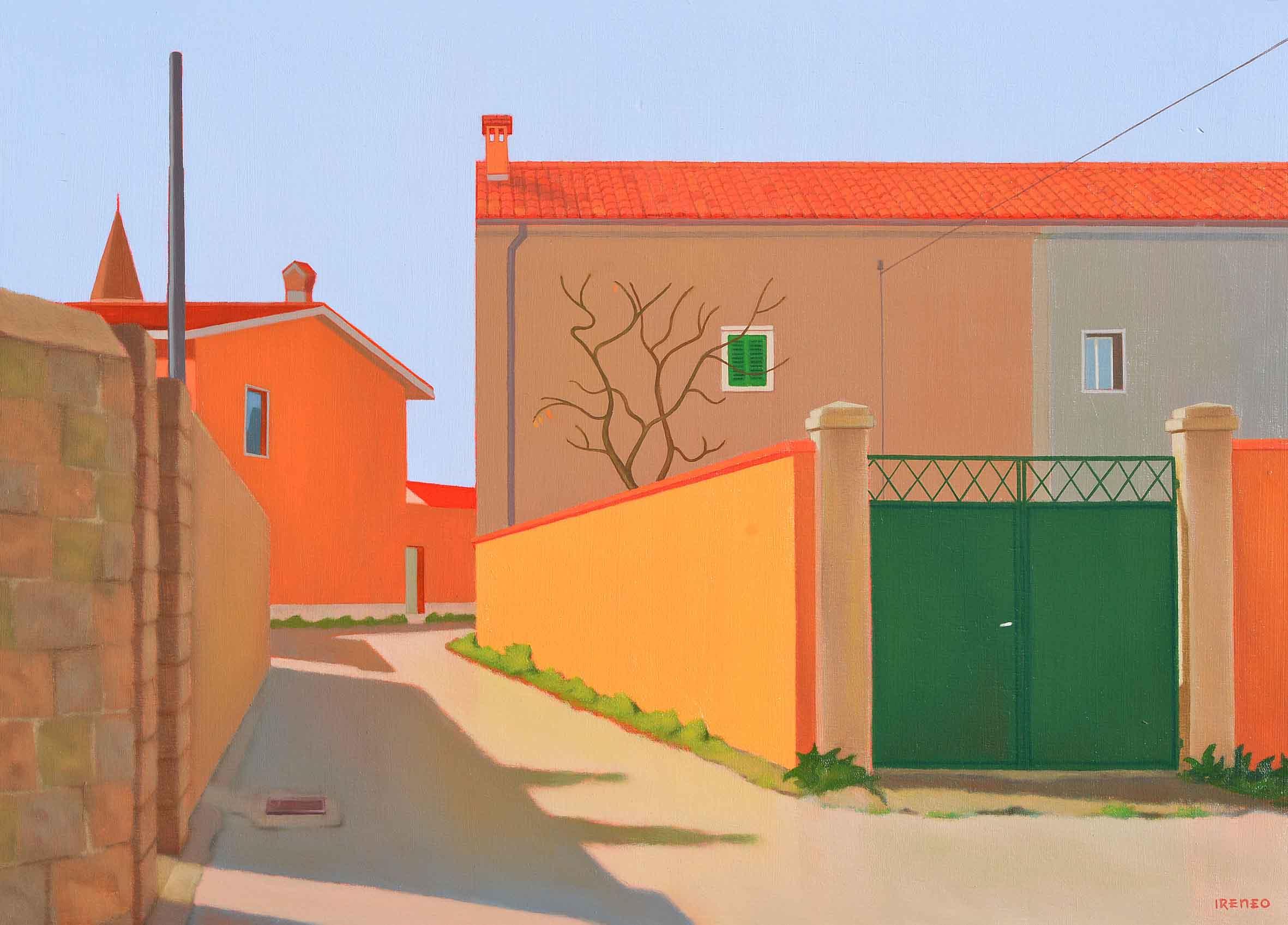 3 Muretto appena colorato (Prosecco) 50x70