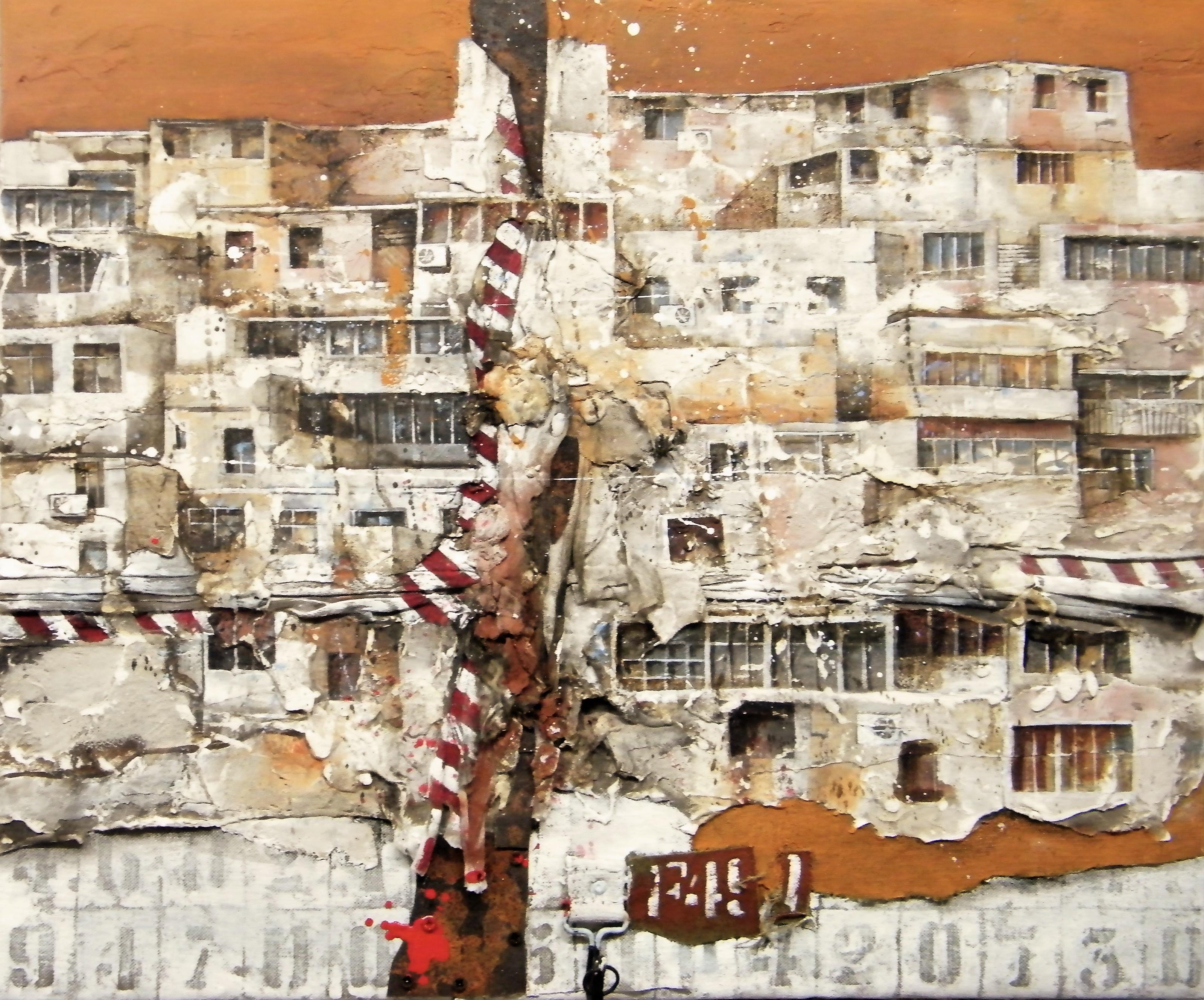 2017 distopia mediorientale-Sirte cm.50x60