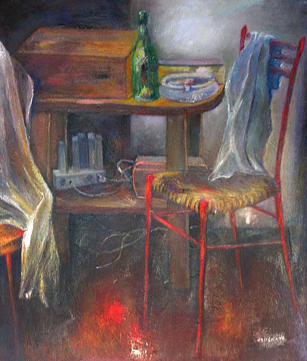 15 Composizione 80 x 60 anno 1979 tela archivio 0095