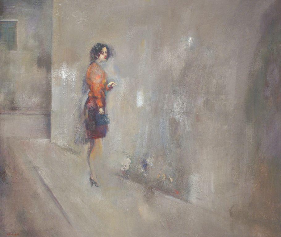 La donnina cm 100x130 (1988)