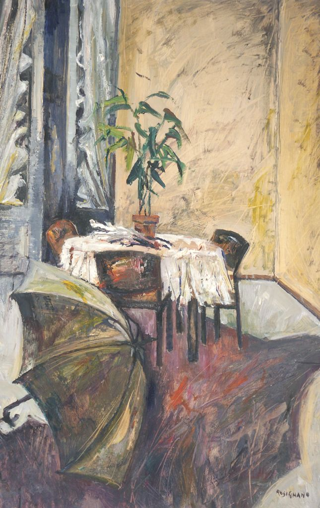 Ombrelli nella stanza cm 100x70 (1993)