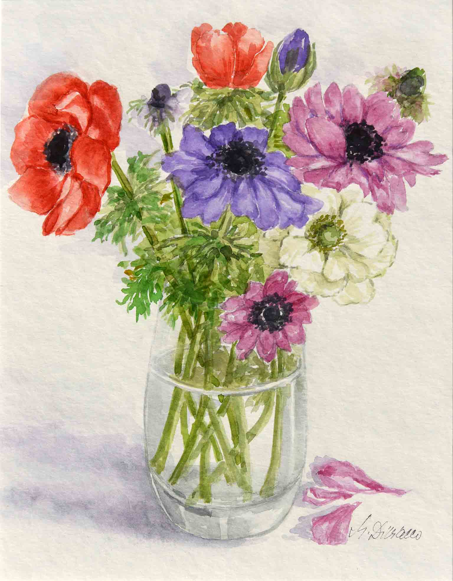 Primavera - acquerello cm 29x22