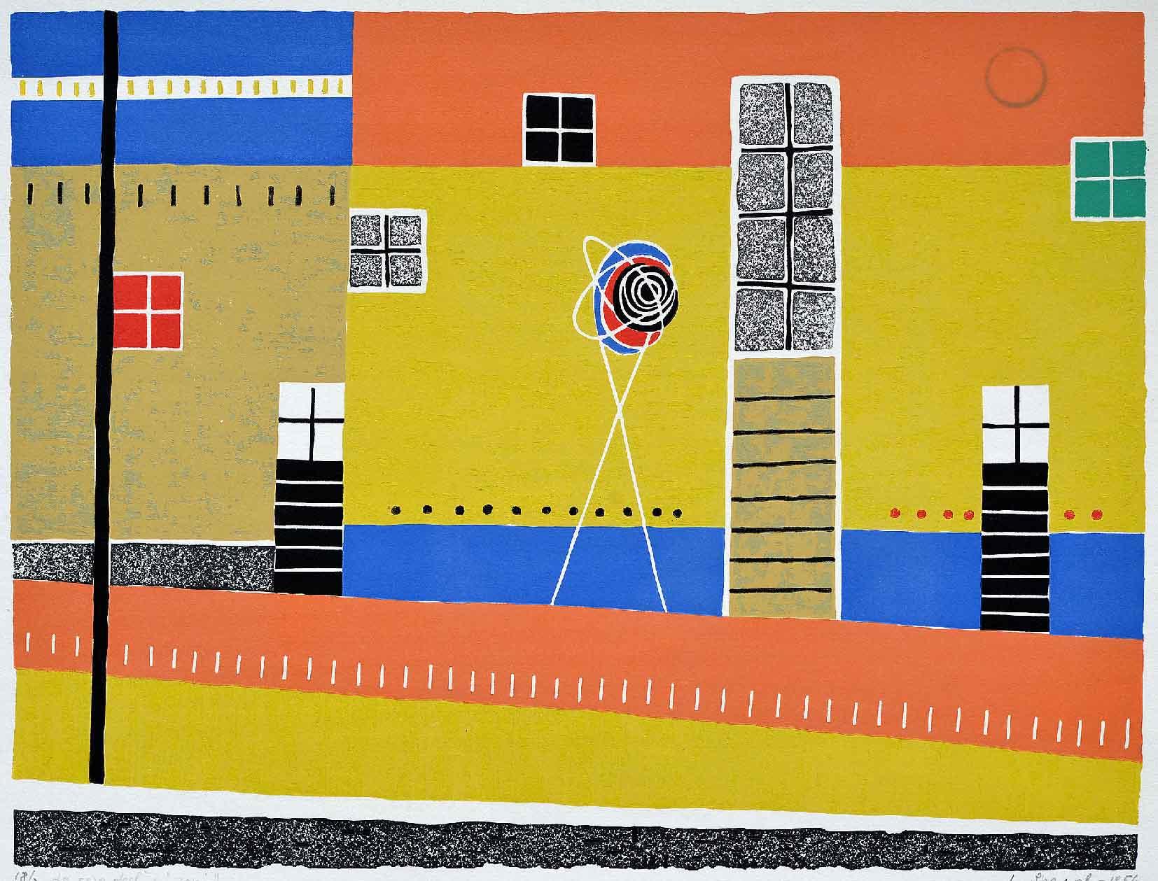 9 Le case degli zingari 43x55 1956