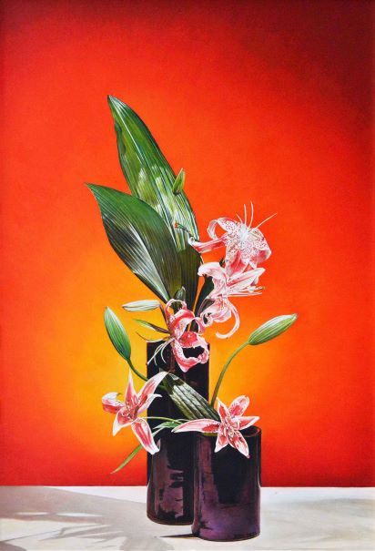 Ikebana composizione